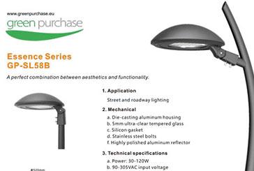 Green Purchase introduceert Straat en Tuinverlichting voor Lantaarnpalen.