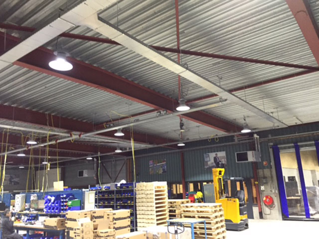 High Bay led verlichting voor Alfen uit Almere - GreenPurchase Lighting